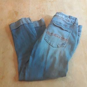 Indigo Rein Forever rolled hem  blue jean capris